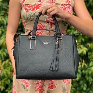 Kate Spade Large Leather Naomi Purse Satchel